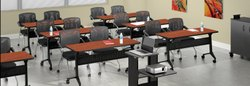 Wooden 12 Seater Training Room Office Furniture