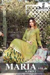 Pakistani Multicolor Majesty Launched Maria M Print Vol 6