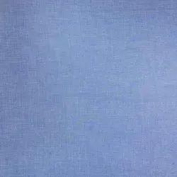 Denim Blue Uniform Shirting Fabric, Machine wash, 150 Gsm