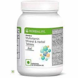 Herbalife Formula 2 Multivitamin Mineral And Herbal Tablet, 60 Capsules, Prescription