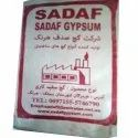 pure white gypsum powder