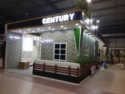Wooden Exhibition Stall Fabrication Service, Pan India