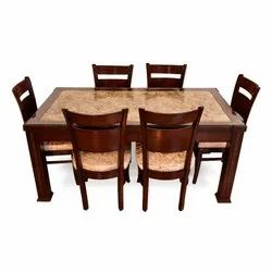 30 Kg Brown Wooden Dining Table