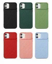 Apple iPhones Black Teekaoo Slider Iphone Series Back Cover Case