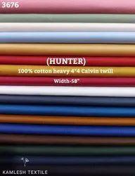 Hunter 100% Cotton Calvin Twill Shirting Fabric