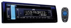 JVC KD R489 Car CD Receiver