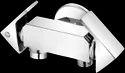 Plantex Brass 2-way Bib Cock With Wall Flange, For Bathroom Fitting