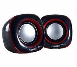 Black Quantum Speaker Mini Speaker QHM602