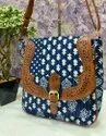 Stylish Ikkat Printed Handbag