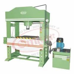 OMKAR Make Power Operated Hydraulic Press Machine - 30 Ton