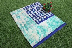 Casual Wear Printed Mul Mul Cotton Sarees without Blouse Piece, 5.50
