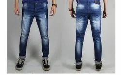 Street Culture Mens Blue Slim Fit Denim Jeans