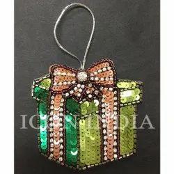 Handmade Christmas Gift Box Hanging