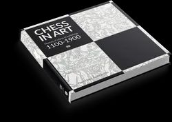 High Quality Gsm Paper Black And White And Color Chess in Art Book