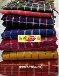 Jacquard Tapeta Checks 2, Check/stripes