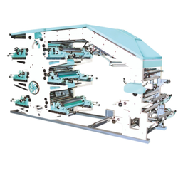 Flexographic Printing Machine - 6 Colors