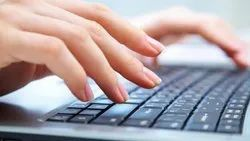 English 11 Months Typing Services, Data Entry Mode: Online