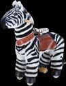 Fiber Black & White Zebra Riding Toys