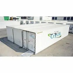 Crystal Icy Superstore 3 Bay Reefer Container