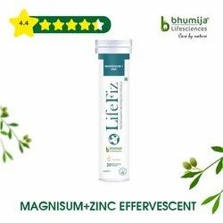 Magnesium with Zinc Effervescent Tablet 20's