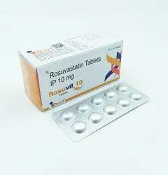 Rosuvastatin Calcium 10 Mg Tablets Ip