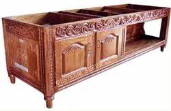 Decorative Half Cabinet Table
