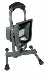 Atlas Powder Coated MS Body Rechargeable LED Flood Light - 10 / 20 / 30 watts