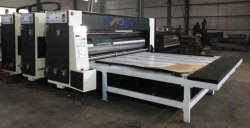 Flexo Printing And Slotting Machine