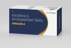 Aceclofenac And Serratiopeptidase Tablet