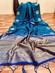 Present New Good Looking Banarasi Silk Saree