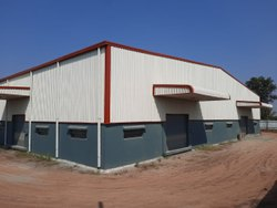 Mild Steel Godown Prefabricated Structure