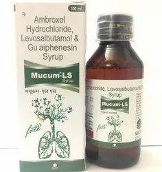 Ambroxol Hydrochloride, Levosalbutamol & Guaiphenesin Syrup