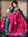 Shubh Vastra Patola Vol 1 Banarasi Jacquard Saree Catalog