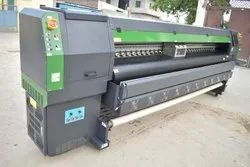 Digital Solvent Printing Machine