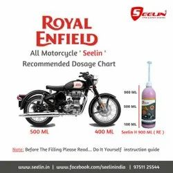 Anti Puncture Tyre sealant for Royal Enfield Bike