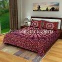 Indian Mandala Bedspread 100% Cotton Bedding Set Ethnic Printed Bedspread