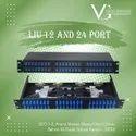 Fiber Patch Panel LIU  12/24 Port SC