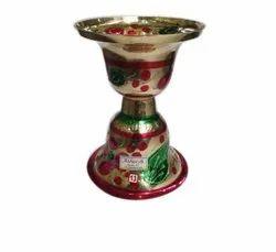 Brass Printed Paan Ugaldan, Packaging Type: Box, Shape: Round
