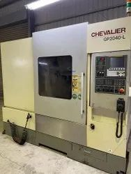 Used And Old Make Chevalier Qp-2040d-l CNC Vertical Machine Center 2014 Year