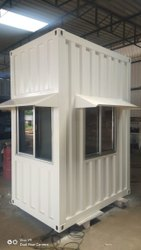 Ms(Mild Steel) Portable Security Cabin