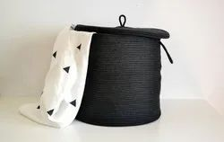 Cotton Basket with Lid