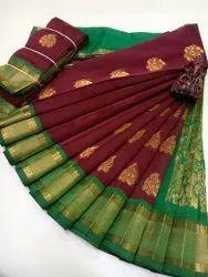Kota Silk Cotton Kottanchi Sarees