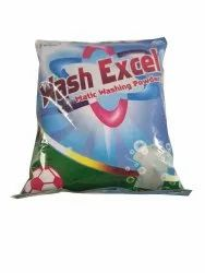 MK Wash Excel Matic washing powder, For Laundry, Packaging Type: Packet