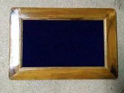 Teak Wood Frame Notice Board