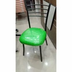 Iron Green, Black Dining Chair, For Bar, Size: 2 Feet