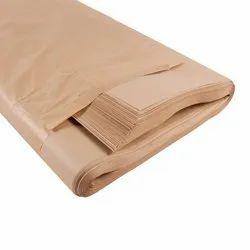 Wood Pulp Kraft Paper Brown, Paper Size: 27x40 Inch, 35-65