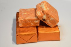 Square Kaju Orange Bite, Packaging Type: Cardboard Box, Packaging Size: 1 Kg