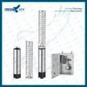 41HP AC Semi SS Solar Submersible Pump Set With Controller