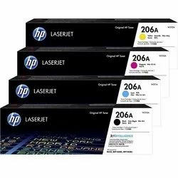 HP 206A Toner Cartridges Genuine Black Cyan Magenta Yellow (W2110A-W2113A) Set
