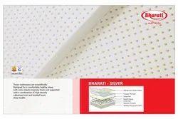 Plain PU Foam Bharati Silver Spring Mattress, For Home, Size: 75x36 Inch (lxw)